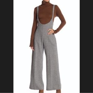 NWT Free People knit overalls